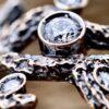 particolare Redblack Diamante
